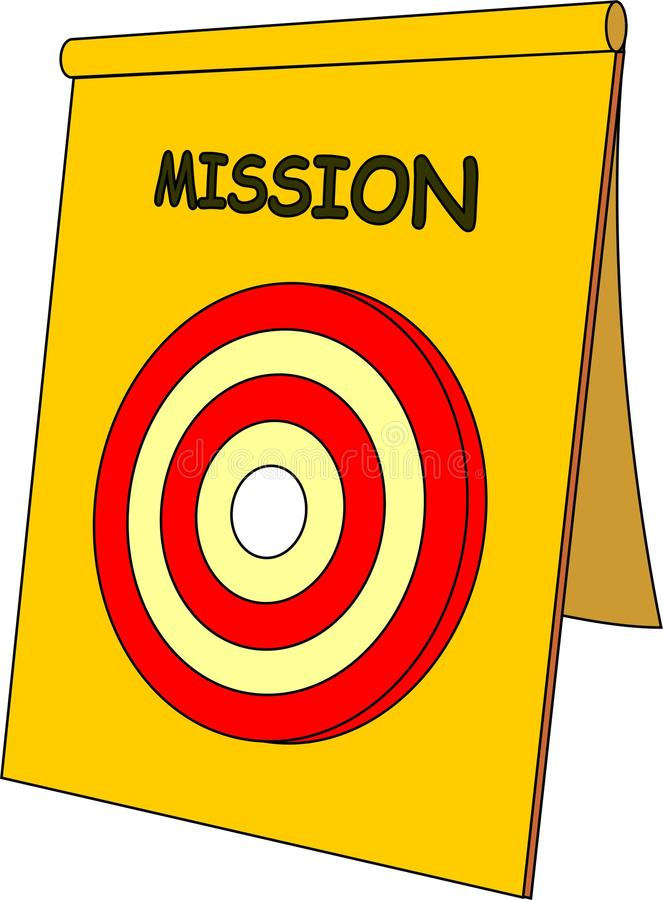 Mission vector illustration
