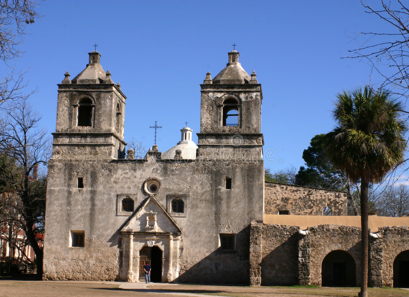 Download Mission Concepcion San Antonio Stock Image - Image: 1723601