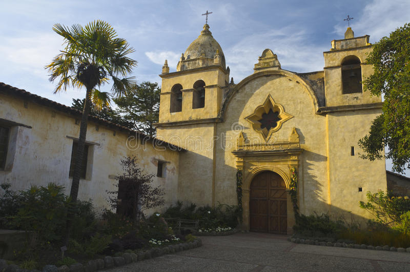 Mission de Carmel image stock