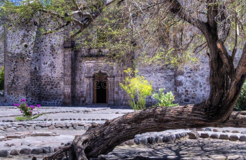 Mission de San Javier image libre de droits