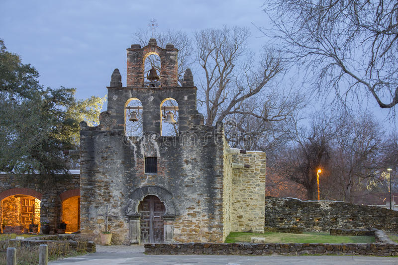 Mission Espada. Near San Antonio Texas stock images