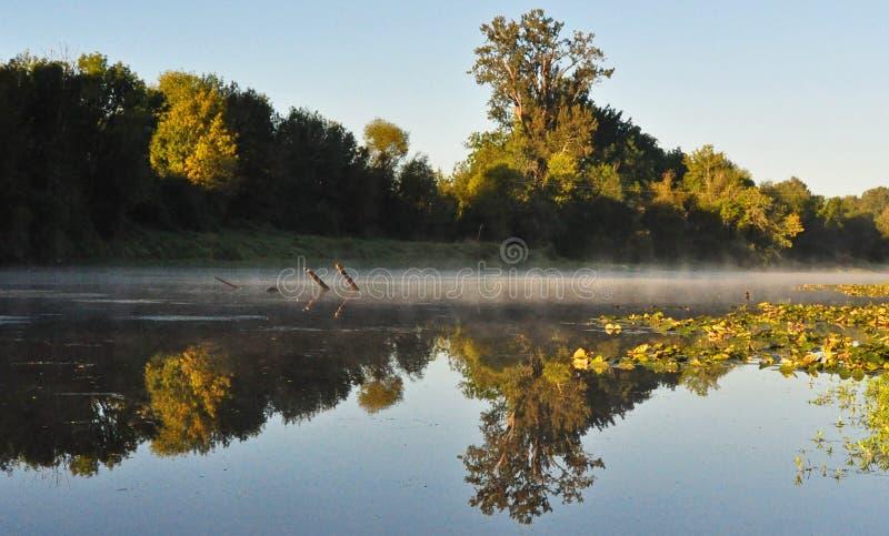 Mission Lake Reflection royalty free stock photos