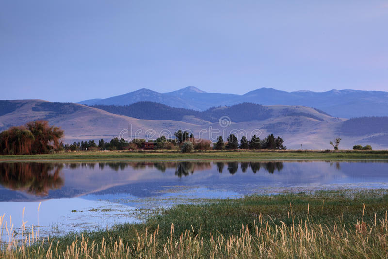 Download Mission Mountain Range & Valley Stock Image - Image: 17421837