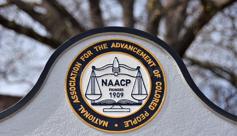 NAACP Founded in 1909 stock images