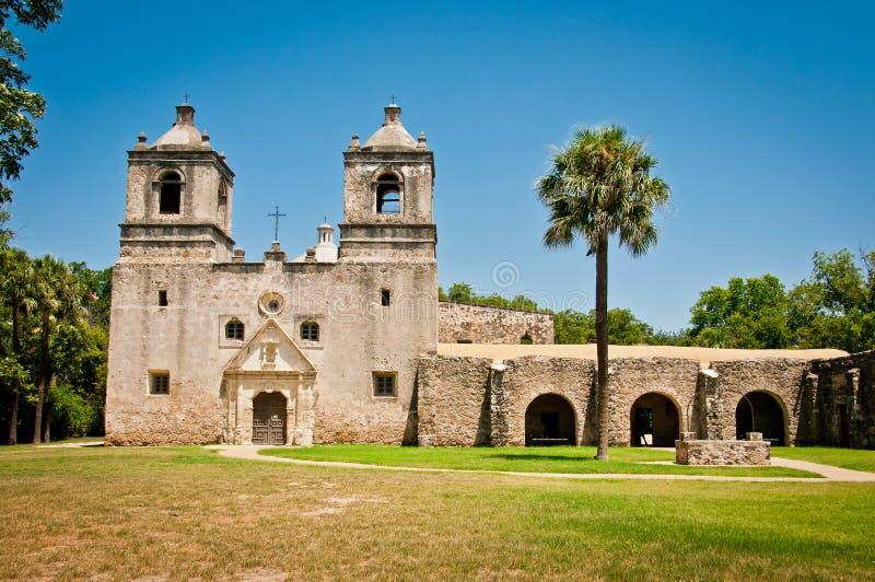 Download Mission Nuestra Señora De La Concepción Stock Image - Image of missionary, antonio: 26808209