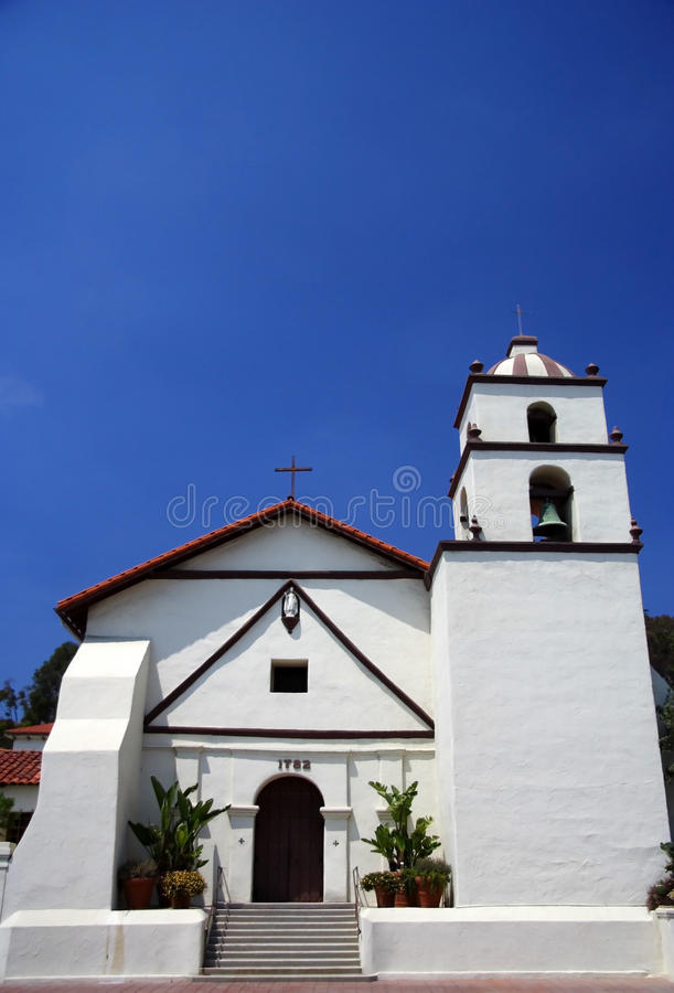 Mission San Buenaventura photographie stock libre de droits