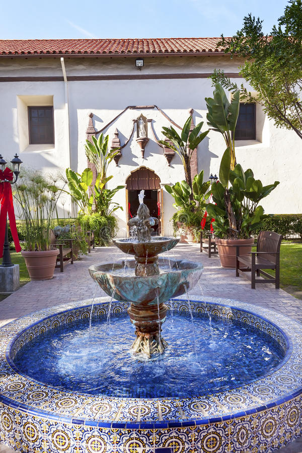 Mission San Buenaventura Ventura California images libres de droits