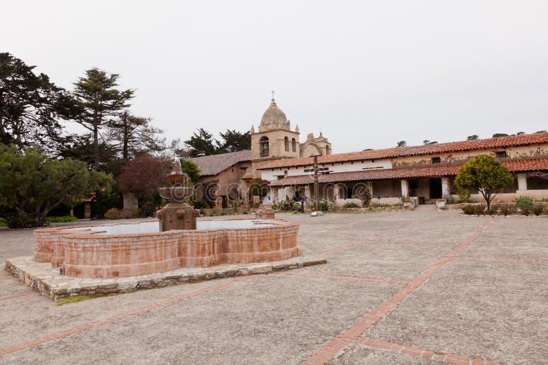 Mission San Carlos Borroméo del río Carmelo. The historic Mission San Carlos, the second mission in upper California royalty free stock photos