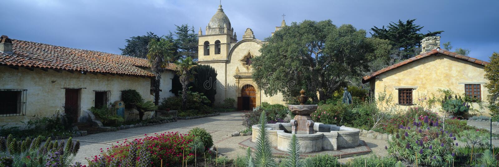 Mission San Carlos Borromeo de Carmel photo libre de droits