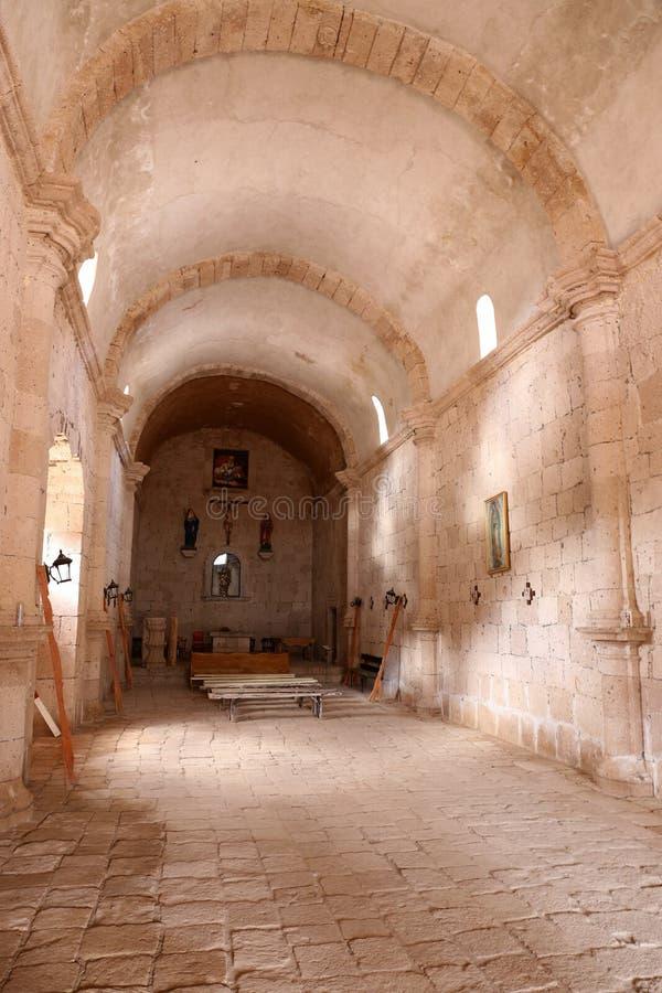 Mission San Francisco de Borja, Baja California, Mexico royalty free stock image