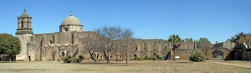Mission San Jose à San Antonio le Texas image libre de droits