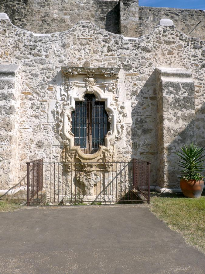 The Mission San Jose` in San Antonio Mission National Historic Park,Texas royalty free stock photos