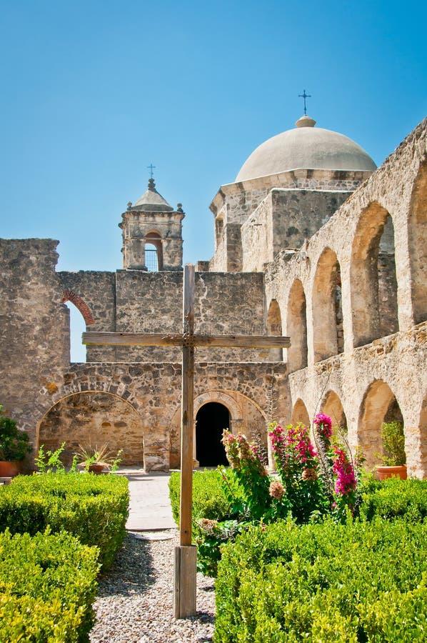 Mission San Jose San Antonio. The Spanish San Jose in San Antonio, one of several on the Mission Trail royalty free stock photo