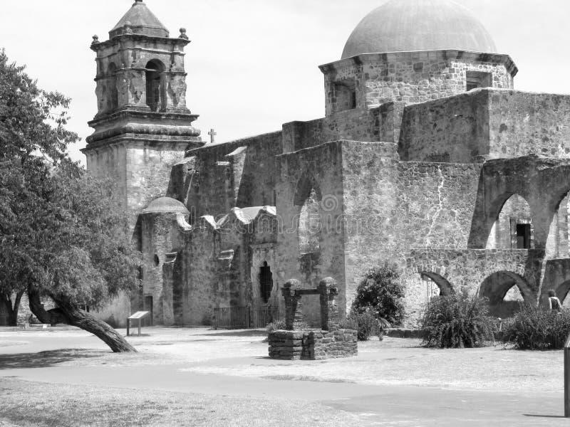 Mission San Jose - San Antonio, Texas stock photos