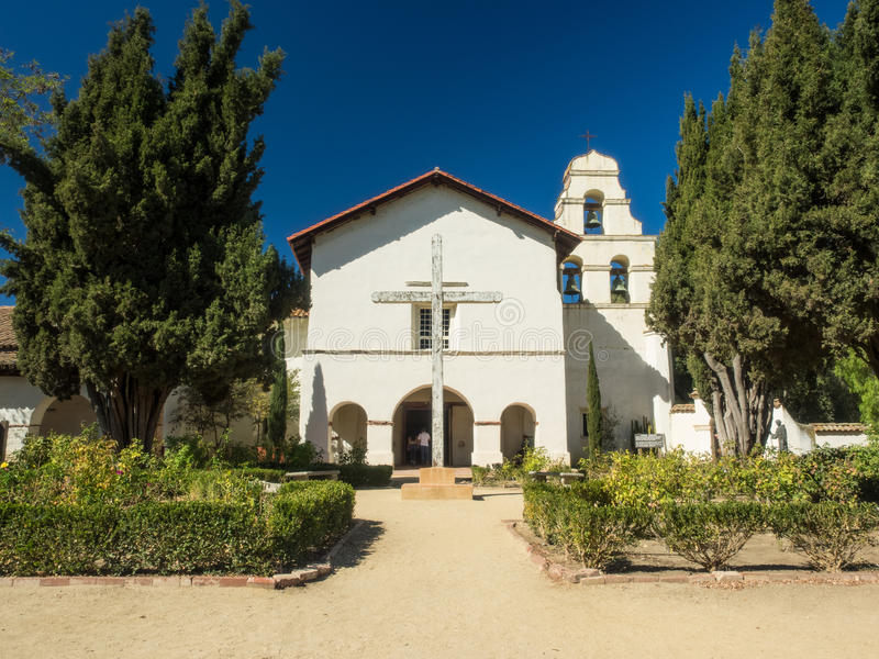 Download Mission San Juan Bautista stock photo. Image of franciscan - 46124278