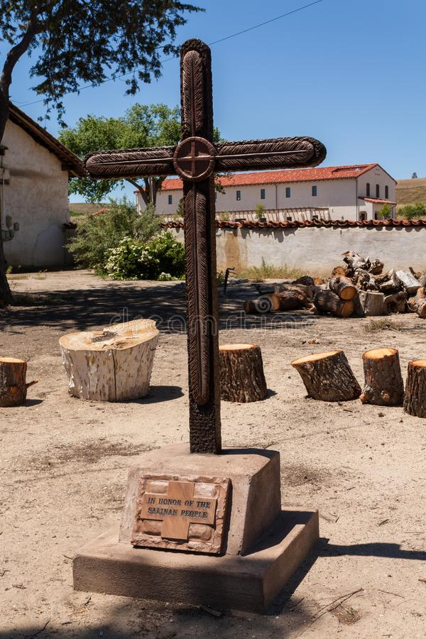 Mission San Miguel Arcangel images libres de droits