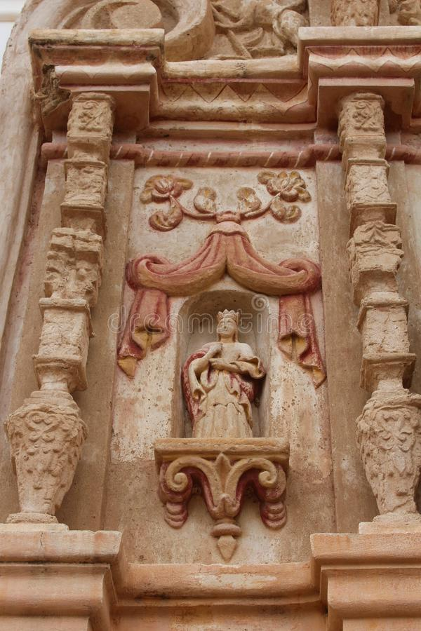 Mission San Xavier del Bac, Tucson, Αριζόνα, Ηνωμένες Πολιτείες στοκ εικόνες