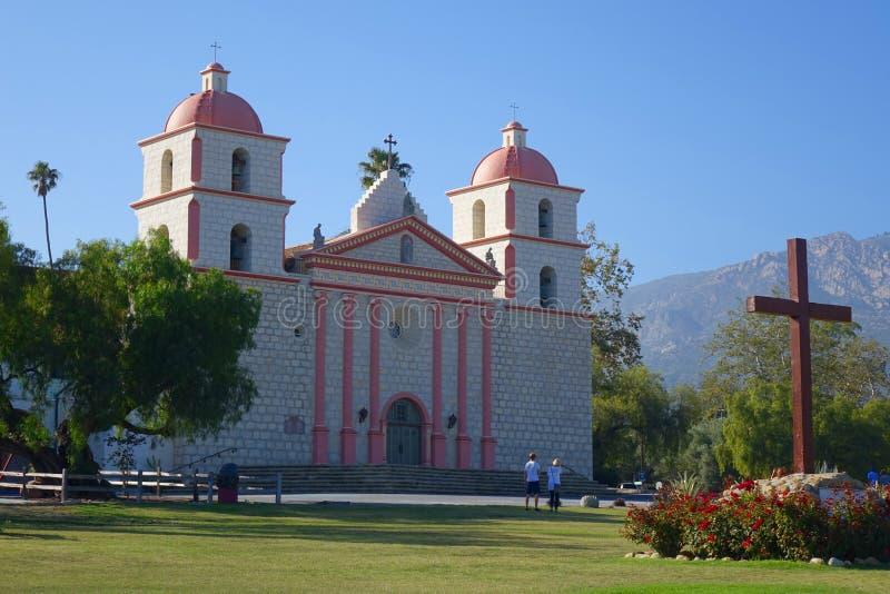 Mission Santa Barbara images stock