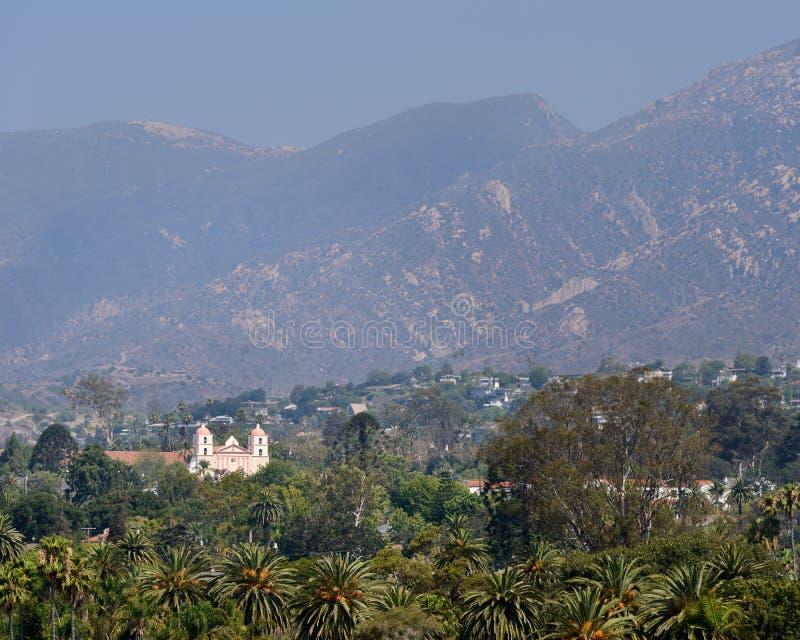 Mission Santa Barbara image libre de droits