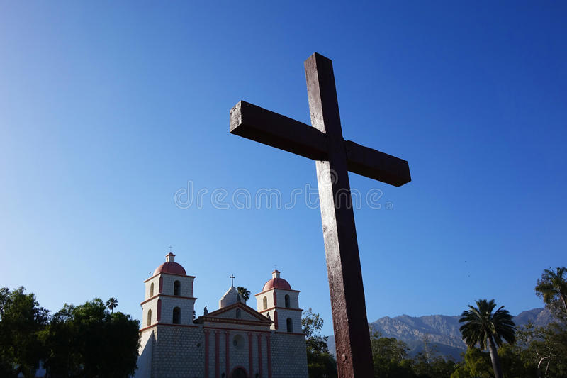 Mission Santa Barbara, la Californie images stock