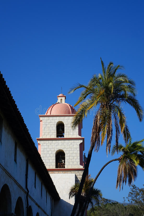 Mission Santa Barbara, la Californie image stock