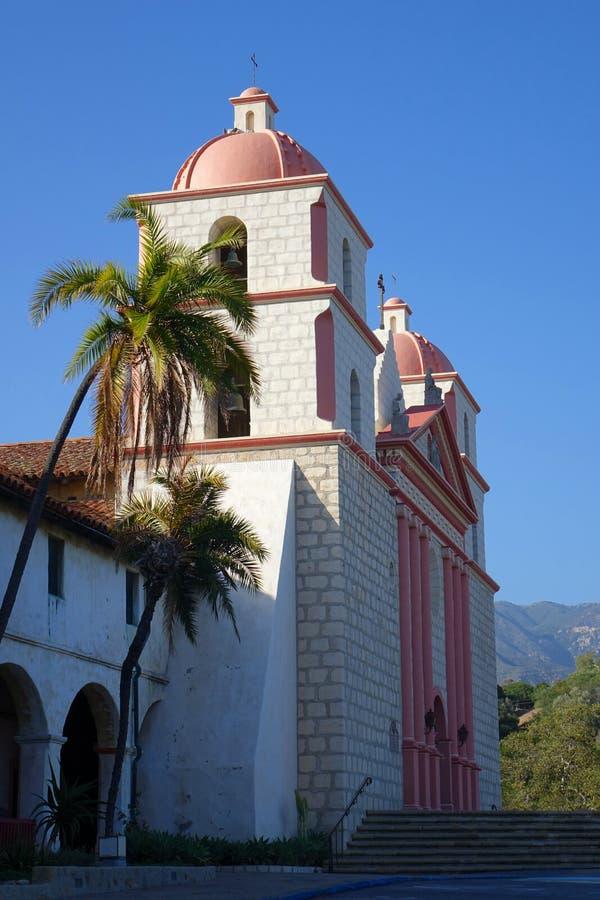 Mission Santa Barbara, la Californie photographie stock