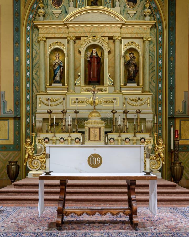Mission Santa Clara royalty free stock image