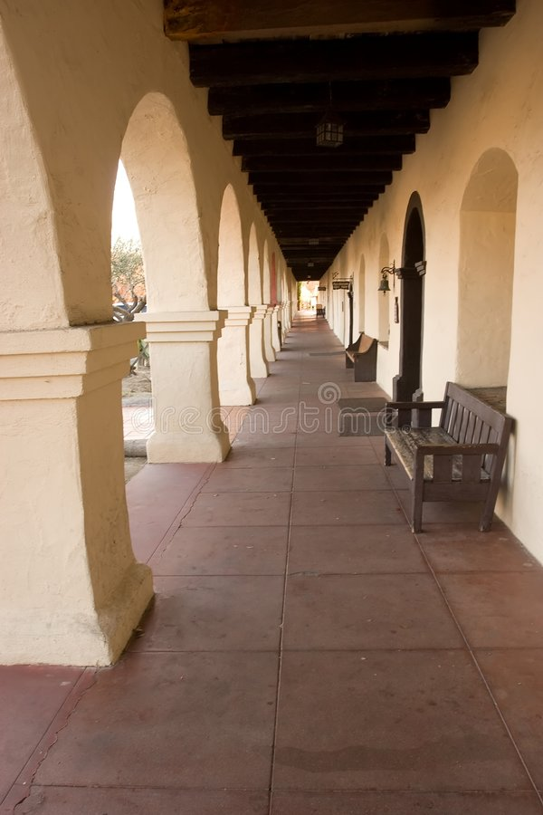Mission Santa In�s stock photography