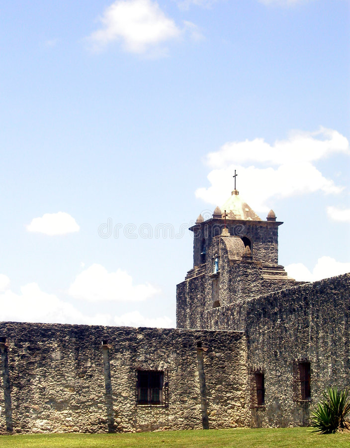 Mission Spiritu Santo royalty free stock images