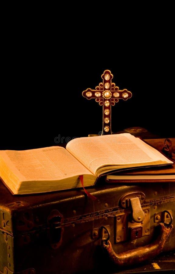 Missionario dell'annata, religioso, rifornimenti della chiesa fotografie stock libere da diritti