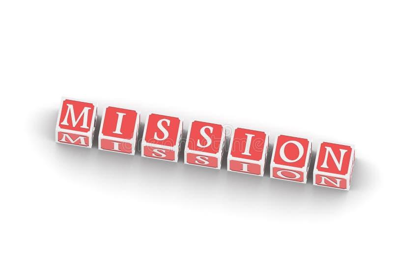 Missione illustrazione vettoriale