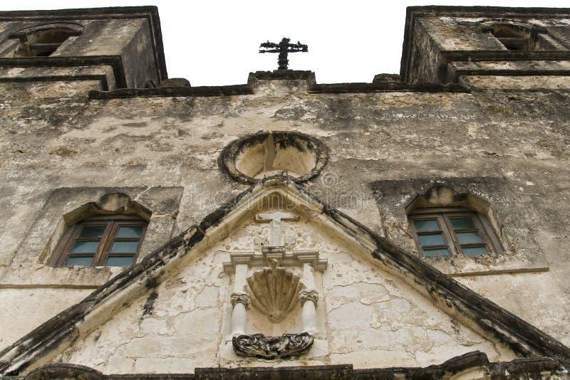 Missione Concepción a San Antonio. fotografia stock