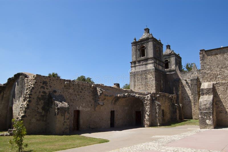 Missione Concepción, San Antonio, il Texas, S.U.A. fotografie stock libere da diritti