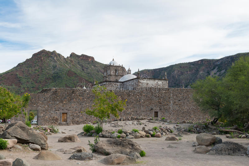 Missione del San Javier immagini stock libere da diritti