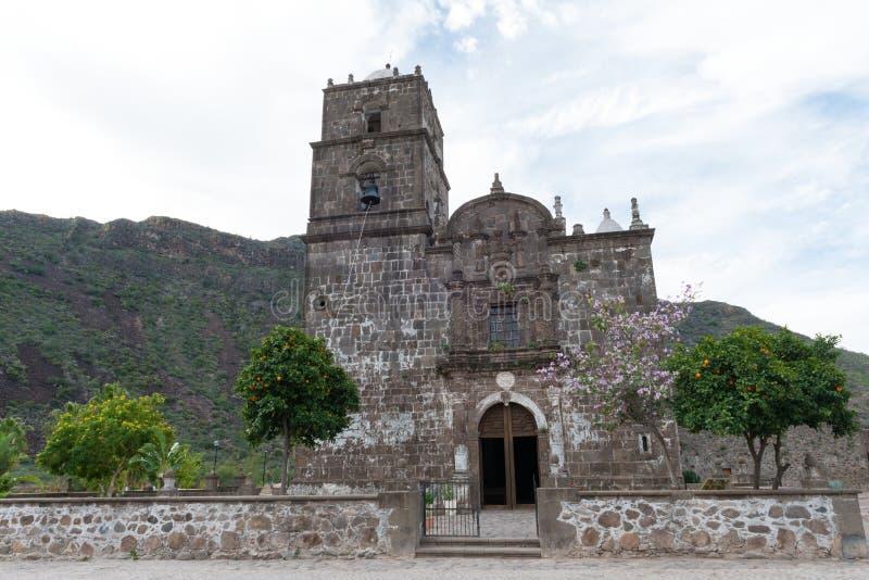 Missione del San Javier fotografie stock libere da diritti
