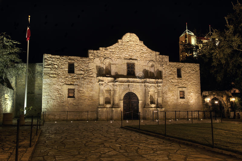 Missione di Alamo a San Antonio fotografia stock libera da diritti