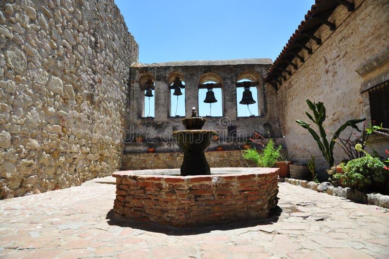 Missione di Lotos di San Juan Capistrano fotografia stock