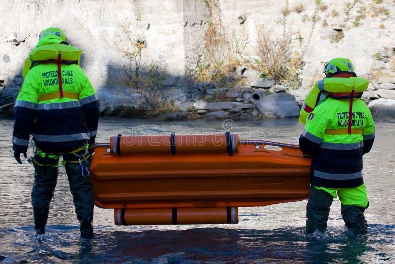 Missione di soccorso immagini stock