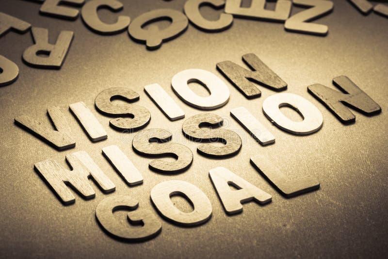 Missione di visione immagini stock libere da diritti