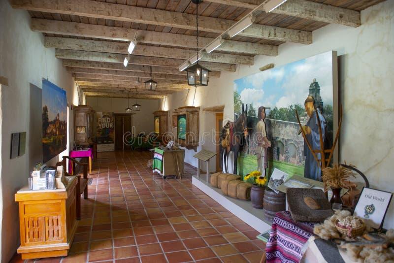 Missione San Juan Capistrano, San Antonio, il Texas, U.S.A. immagini stock
