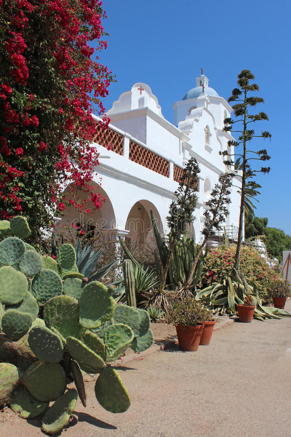 Missione San Luis Rey fotografia stock