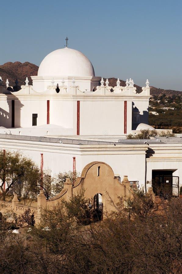Missione San Xavier Del Bac immagini stock libere da diritti