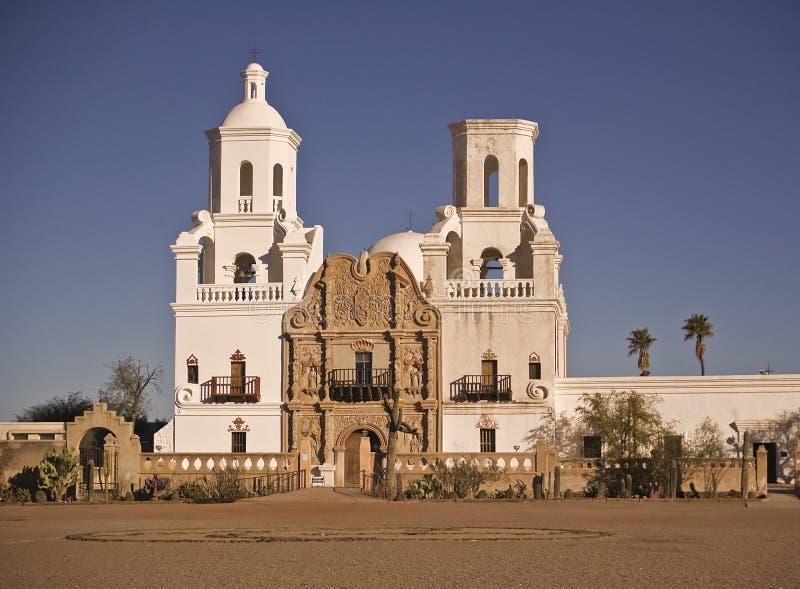 Missione San Xavier del Bac immagine stock