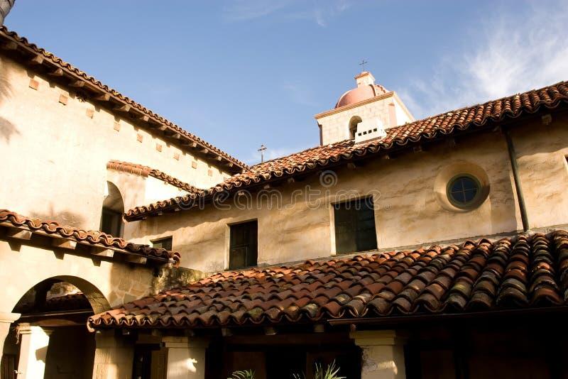 Missione Santa Barbara fotografie stock