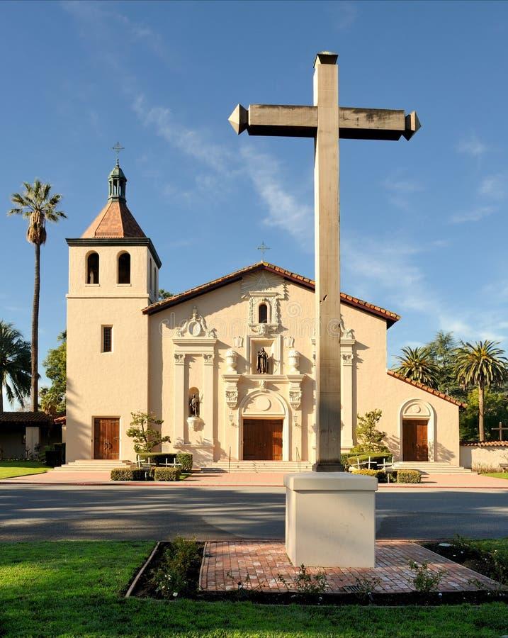 Missione Santa Clara fotografie stock