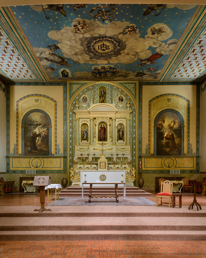 Missione Santa Clara fotografie stock libere da diritti