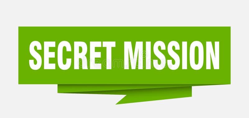 Missione segreta royalty illustrazione gratis