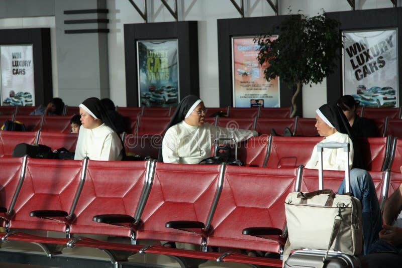 Missioners stock afbeelding