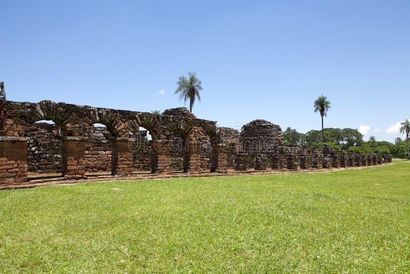 Missions de jésuite de La Santisima Trinidad de ParanÃ, Paraguay photos libres de droits