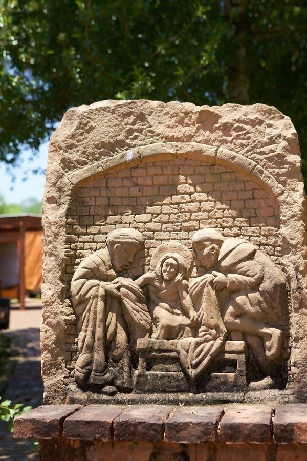 Missions de jésuite de La Santisima Trinidad de ParanÃ, Paraguay photo stock